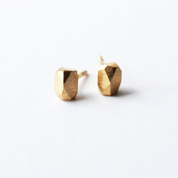 Crystal Studs - Golden