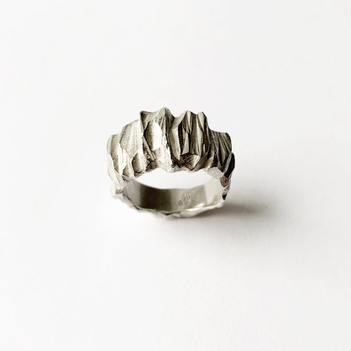 Structured Rock - Silver