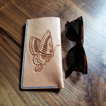 Leather Butterfly Sunglass Case