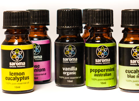 Saroma Natural Therapies essential oils