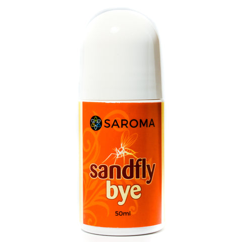 Saroma Sandflybye 50 ml roll-on sand fly and mosquito repellent