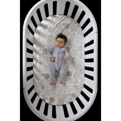 COCOON Nest 4-in-1 Crib and Bassinet (includes Smart Mattress)