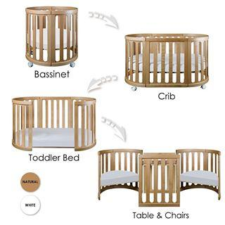Image of COCOON Nest 4-in-1 Crib and Bassinet (includes Smart Mattress)