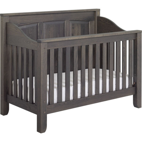 Image of American Baby Classics Jackson Crib With Back Panel