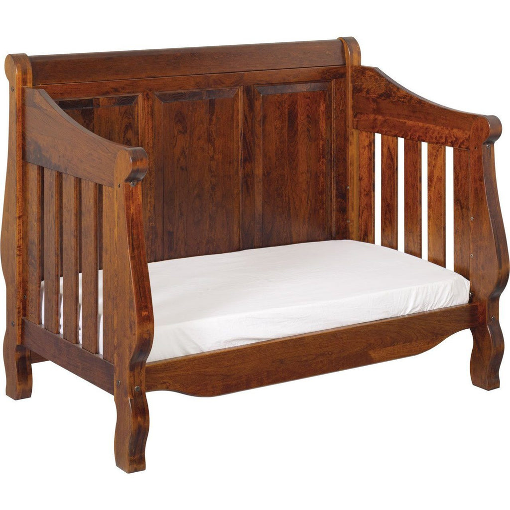 American Baby Classics Heirloom Crib With Back Panel