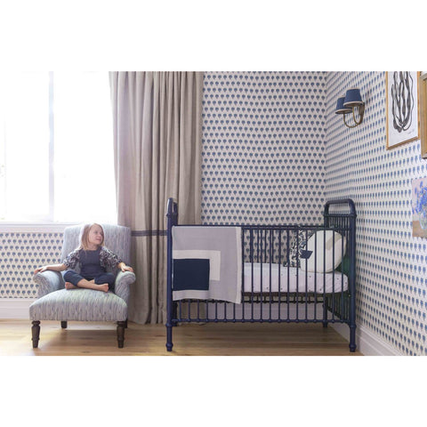 Image of Incy Interiors Chloe Crib in Navy