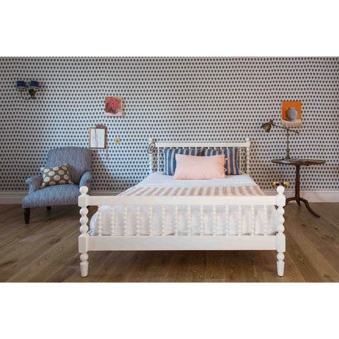 Incy Interiors Penny Queen Bed in White