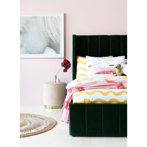 Image of Incy Interiors Innika Twin Bed in Forest Green