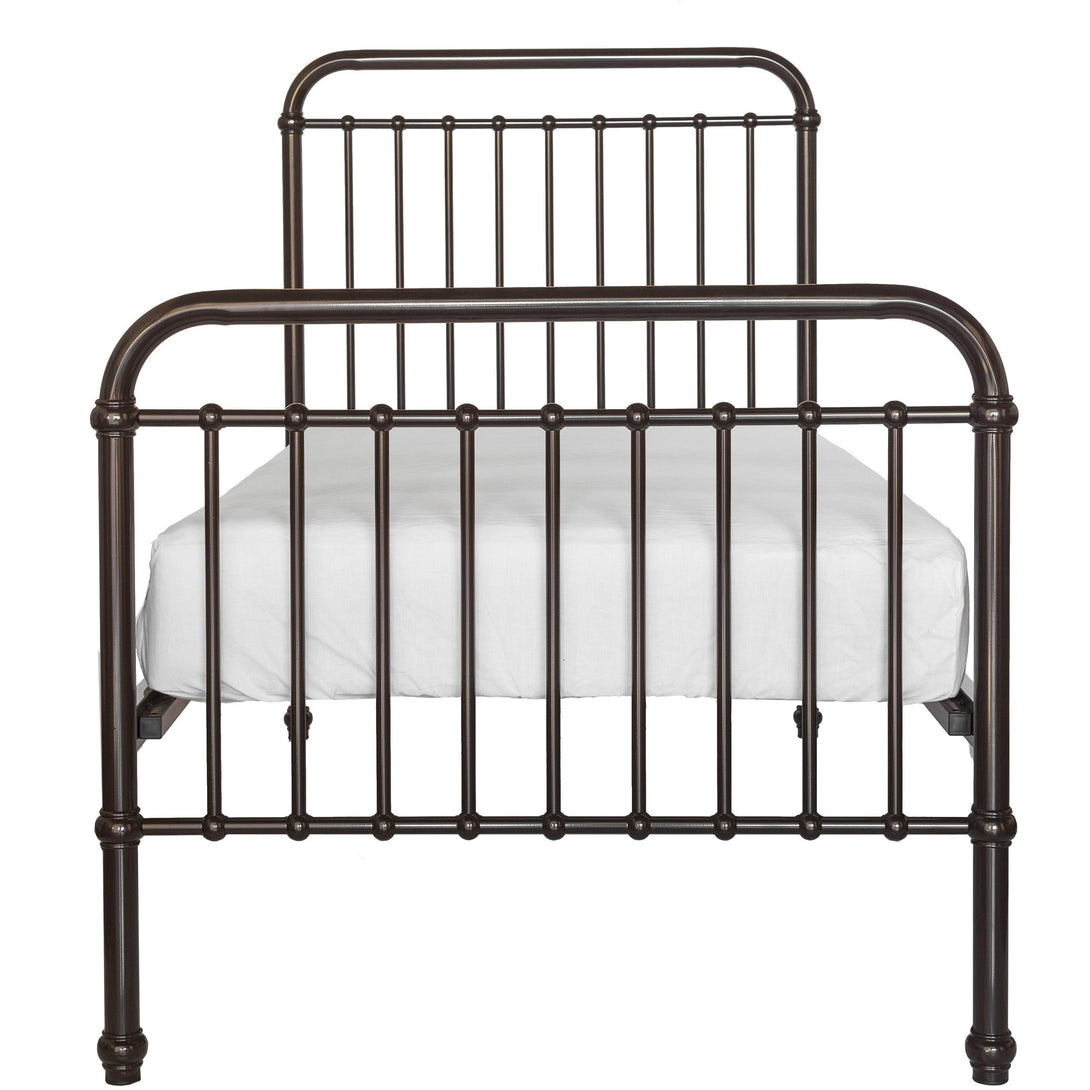 Incy Interiors Oskar Twin Bed in Chocolate Brown