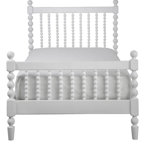 Image of Incy Interiors Penny Twin Bed in White