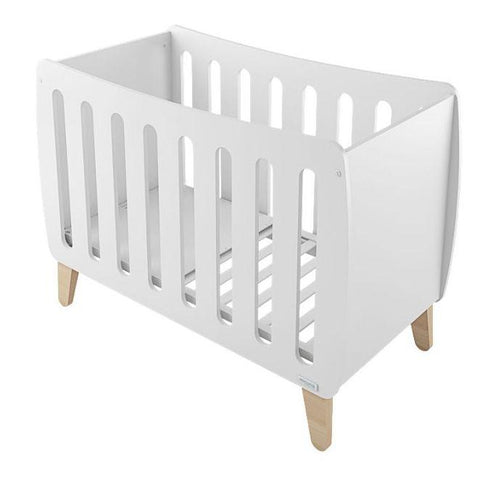 Image of Micuna Harmony Convertible Crib in White/Natural