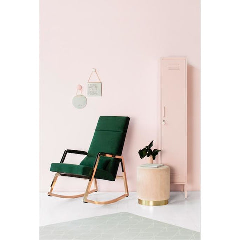 Image of Incy Interiors x Hobbe Innika Rocker in Forest Green