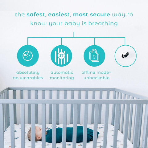 Image of Baby Monitor - Smart Beat Video Breathing Monitor