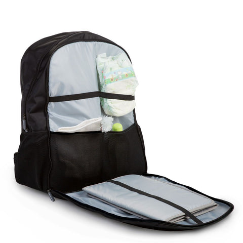 Image of Bags - Childhome Daddy Backpack In Black