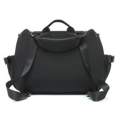 Bags - Storksak Poppy Luxe Convertible Backpack In Scuba Black