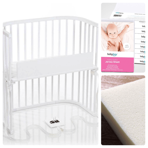 Bassinet - Babybay Convertible Bedside Sleeper - Basics Bundle