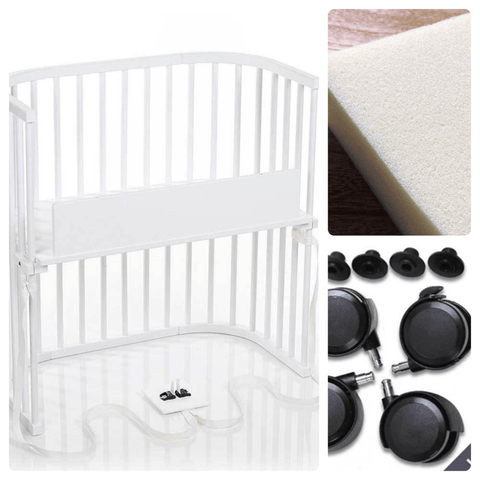 Image of Bassinet - Babybay Convertible Bedside Sleeper - Go-Mobile Bundle