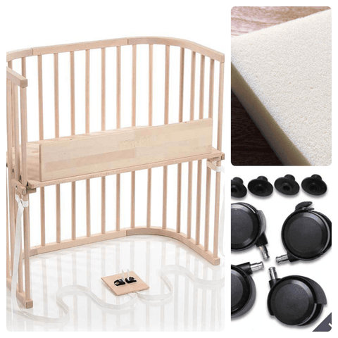 Bassinet - Babybay Convertible Bedside Sleeper - Go-Mobile Bundle