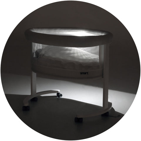 Image of Bassinet - Micuna SMART Luce Bassinet With Light