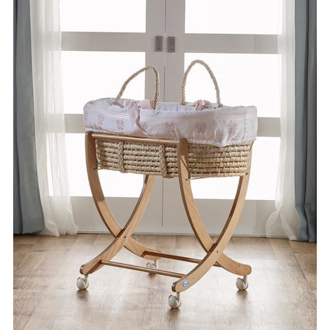 Bassinet - Pali Isabella Large Moses Basket (includes Softgoods)