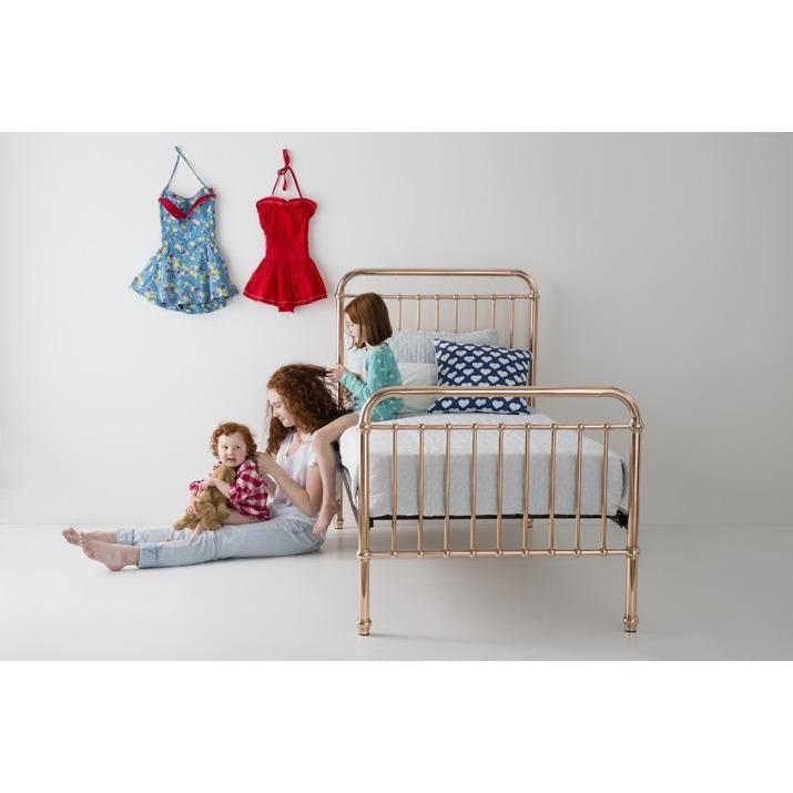 Bed - Incy Interiors Eden Full Bed In Rose Gold