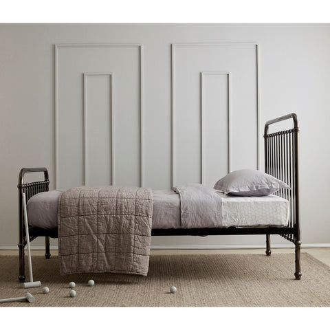 Bed - Incy Interiors Louis Twin Bed In Silver