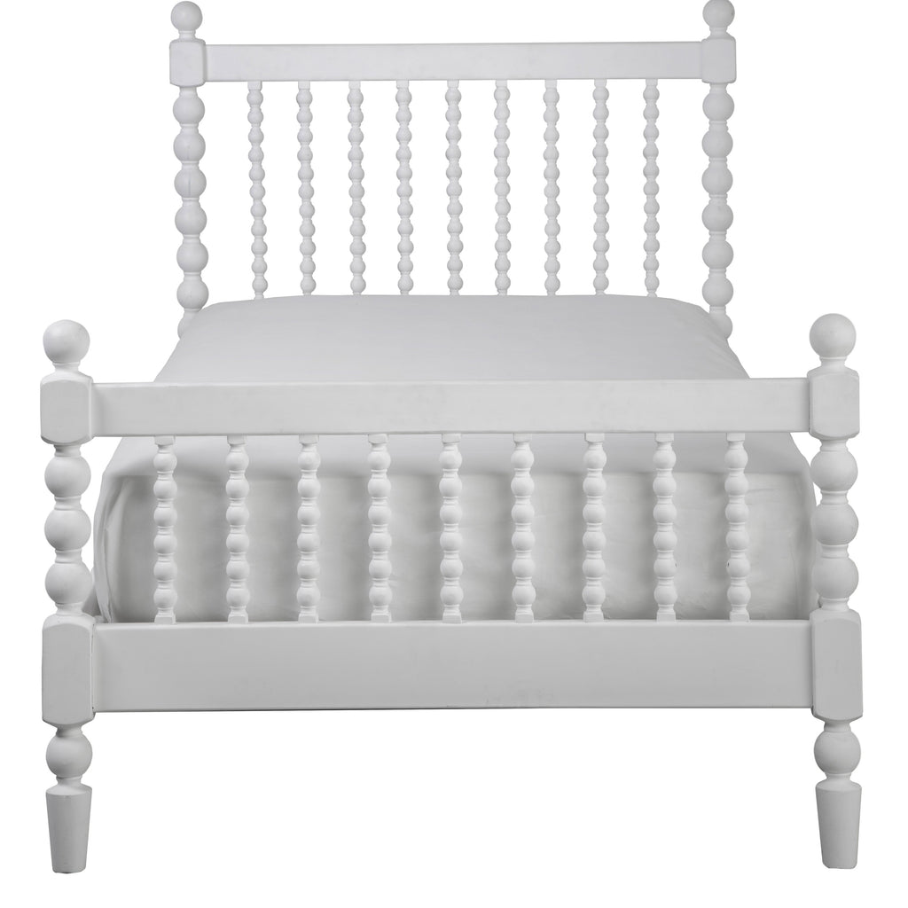 Bed - Incy Interiors Penny Full Bed In White
