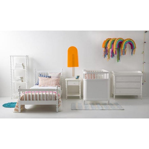 Image of Bed - Incy Interiors Penny Full Bed In White