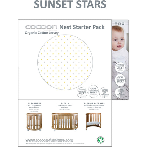 Crib - Nest 4-in-1 Crib And Bassinet (includes Cocoon Smart Mattress)