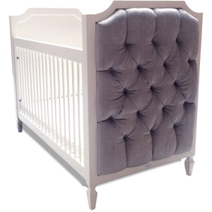 Crib - Newport Cottages Beverly Crib With Tufted Panels