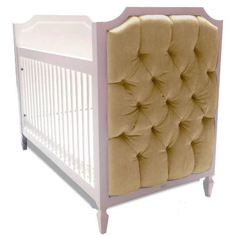 Image of Crib - Newport Cottages Beverly Crib With Tufted Panels
