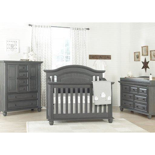 Crib - Oxford Baby London Lane 4-in-1 Convertible Crib