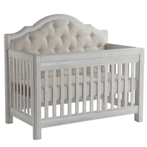 Crib - Pali Cristallo Forever Convertible Crib (Fabric Panel)