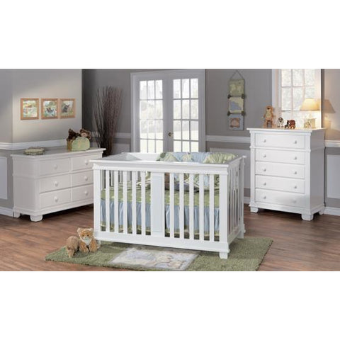 Image of Crib - Pali Lucca 3-Piece Nursery Set