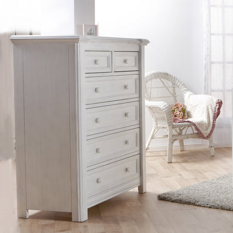 Image of Dresser - Pali Cristallo 5-Drawer Dresser
