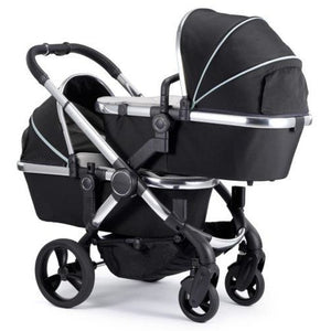 iCandy Peach Blossom Twin Stroller in Chrome/Beluga