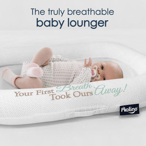 Lounger - P'kolino Nuzzle Baby Lounger With Airatex