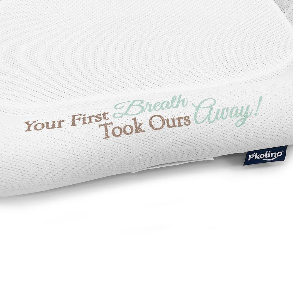 Lounger - P'kolino Nuzzle Baby Lounger With Airatex - First Breath