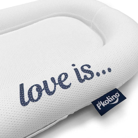 Image of Lounger - P'kolino Nuzzle Baby Lounger With Airatex - Love Is