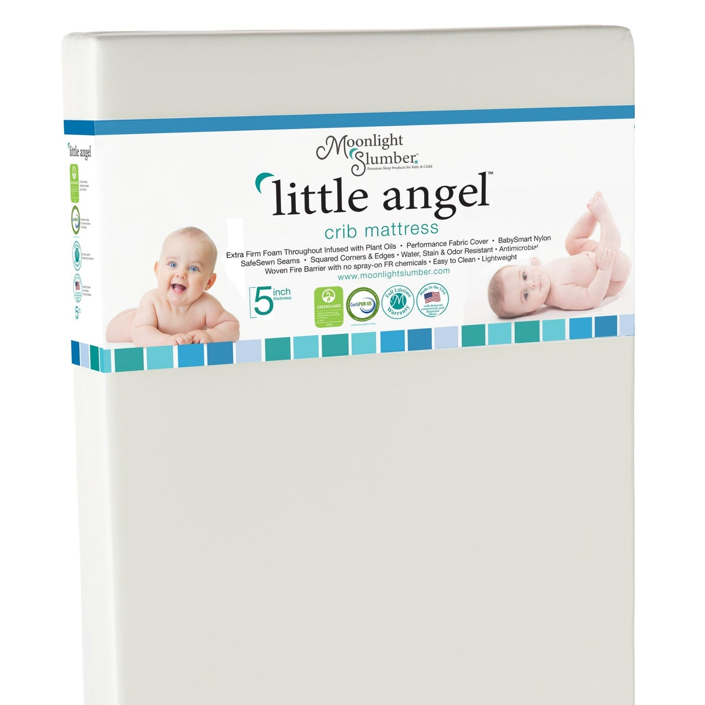 Mattress - Moonlight Slumber Little Angel Crib Mattress
