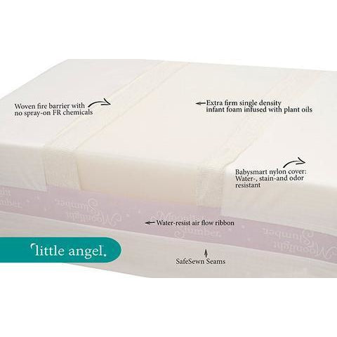 Image of Mattress - Moonlight Slumber Little Angel Crib Mattress