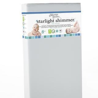 Image of Mattress - Moonlight Slumber Starlight Shimmer Crib Mattress