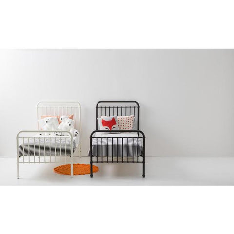 Image of Incy Interiors Oskar Twin Bed in Chocolate Brown