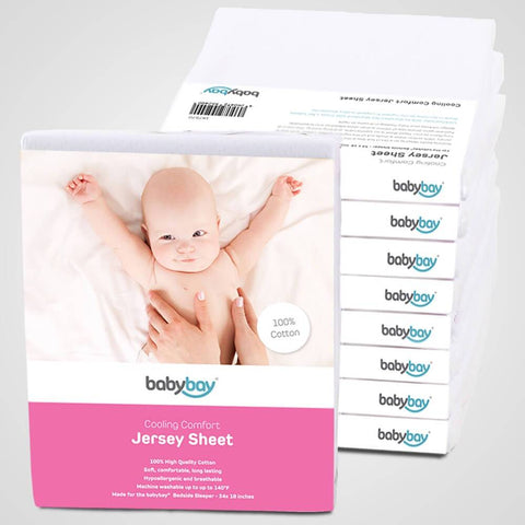 Sheets - Babybay Cooling Comfort Jersey Sheet