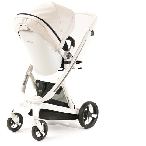 Image of Stroller - Milkbe Lullaby Self-Stopping Stroller