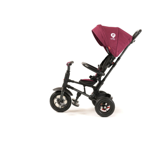 Stroller - Q Play Rito Plus Ultimate Folding Stroller/Trike