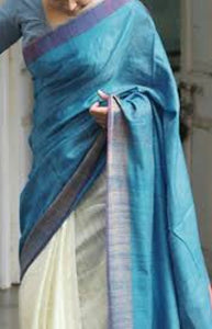 Pretty Blue Color Soft Silk Designer Saree FN222