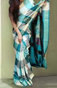 Glammrous Mluti Color Designer Soft Silk Saree SC3106
