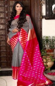 Exclusive Multi Color Soft Silk Designer Saree SC9362