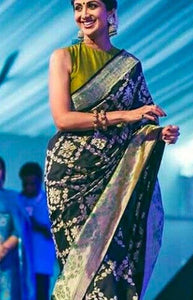 Peculiar Green Color Soft Silk Designer Sarees SC1245